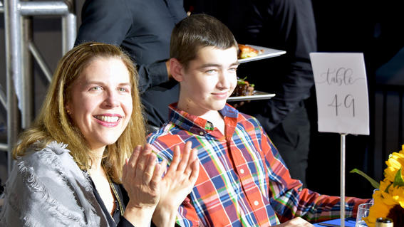 Michael, 14, is surprised when it is revealed that his wish to go to the French Alps to learn to cook is coming true