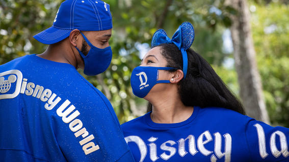 Couple wearing Wishes Come True Blue color collection