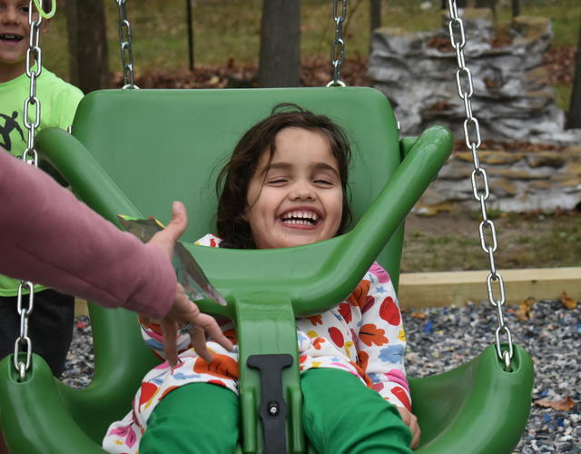 Fiona wish day green swing New Hampshire