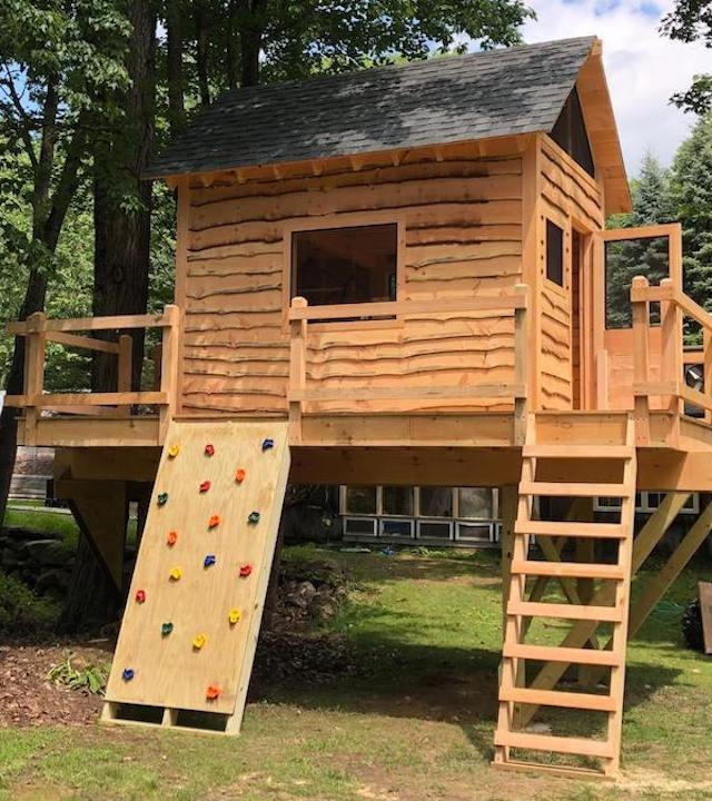 Wish kid Jaxen's Treehouse