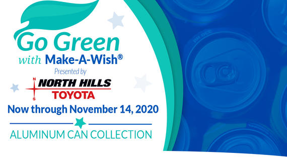 Go Green with Make-A-Wish