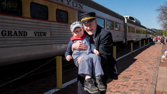 Trent,I wish to ride trains in the Grand Canyon
