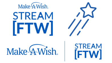 Make-A-Wish and Charity Streaming [FTW] Logos