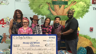 Eagle Point Elementary - Kids for Wish Kids