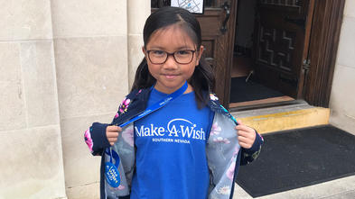 Wish kid Madison