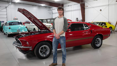 Ethan's '69 Mustang restoration