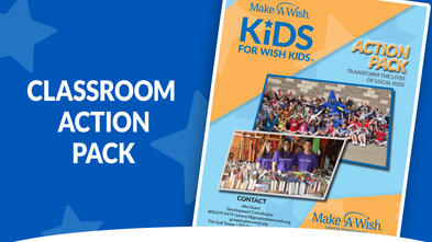 Action Packet-Kids For Wish Kids