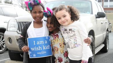 Kamiah celebrated her wish with her best friends