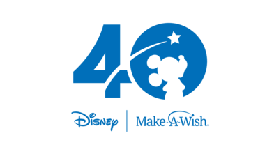 Disney & Make-A-Wish 40th Logo