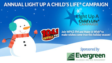 Join us for our Annual Light Up A Child's Life Campaign in Punxsutawney, PA.