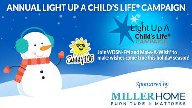 Join us for our Annual Light Up A Child's Life Campaign in DuBois, PA.