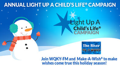 Join us for our Annual Light Up A Child's Life Campaign in St. Marys, PA.