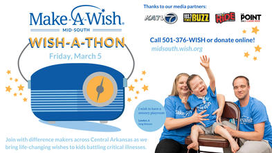Make-A-Wish Radiothon Wishathon March 5, 2021