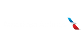 American Airlines Logo White